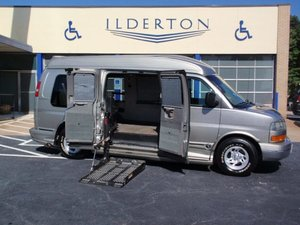 Used Wheelchair Van For Sale: 2003 GMC Savana  Wheelchair Accessible Van For Sale with a  on it. VIN: 1GDFG15T031117795