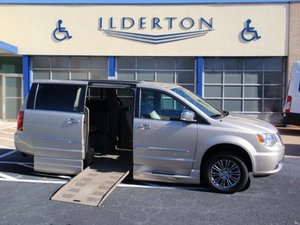 Used Wheelchair Van For Sale 2014 Chrysler Town Country Touring Accessible