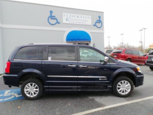 New Wheelchair Van For Sale: 2016 Chrysler Town & Country Limited Wheelchair Accessible Van For Sale with a  on it. VIN: 2C4RC1GG6GR303503