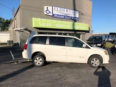 Used Wheelchair Van For Sale: 2012 Dodge Grand Caravan SXT Wheelchair Accessible Van For Sale with a  on it. VIN: 2C4RDGCG4CR201648