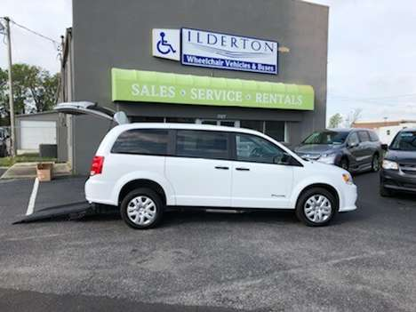 New Wheelchair Van For Sale: 2019 Dodge Grand Caravan SE Wheelchair Accessible Van For Sale with a  on it. VIN: 2C7WDGBG4KR799486