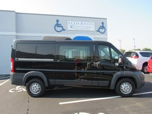 Used Wheelchair Van For Sale: 2014 Ram Promaster Low Roof Wheelchair Accessible Van For Sale with a  on it. VIN: 3C6TRVAG0EE126702