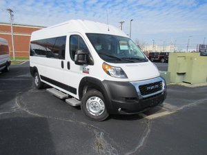 New Wheelchair Van For Sale: 2019 Ram Promaster High Roof Wheelchair Accessible Van For Sale with a  on it. VIN: 3C6TRVPG8KE563480
