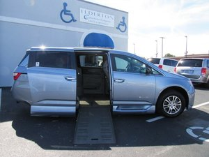Used Wheelchair Van For Sale: 2012 Honda Odyssey EX Wheelchair Accessible Van For Sale with a  on it. VIN: 5FNRL5H68CB090007