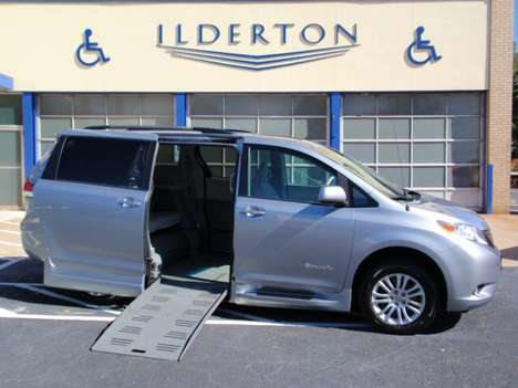 Used Wheelchair Van For Sale: 2013 Toyota Sienna LE Wheelchair Accessible Van For Sale with a  on it. VIN: 5TDYK3DC1DS389804