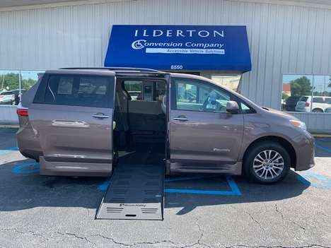 New Wheelchair Van For Sale: 2020 Toyota Sienna LE Wheelchair Accessible Van For Sale with a  on it. VIN: 5TDYZ3DC1LS071949