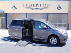 New Wheelchair Van For Sale: 2017 Toyota Sienna XLE Wheelchair Accessible Van For Sale with a  on it. VIN: 5TDYZ3DC8HS886320