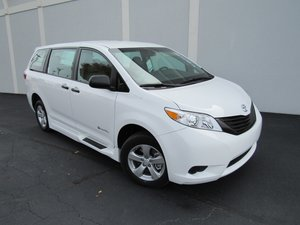 New Wheelchair Van For Sale: 2017 Toyota Sienna SE Wheelchair Accessible Van For Sale with a  on it. VIN: 5TDZZ3DC1HS881786
