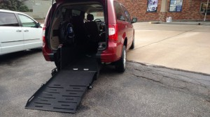 Used Wheelchair Van For Sale: 2013 Chrysler Town & Country Touring Wheelchair Accessible Van For Sale with a FR Wheelchair Vans - Chrysler Rear Entry on it. VIN: 2C4RC1BG9DR563820