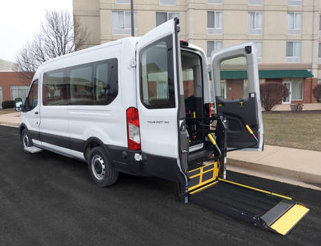 New Wheelchair Van For Sale: 2020 Ford Transit S Wheelchair Accessible Van For Sale with a  on it. VIN: 1FBAX2C81LKA35978