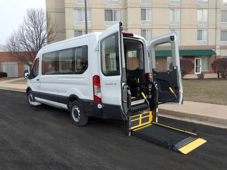 New Wheelchair Van For Sale: 2020 Ford Transit S Wheelchair Accessible Van For Sale with a  on it. VIN: 1FBAX2C82LKA35987