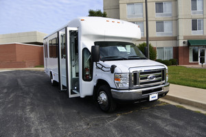 New Wheelchair Van For Sale: 2017 Ford Starcraft  Wheelchair Accessible Van For Sale with a  on it. VIN: 1FDFE4FS0HDC33713
