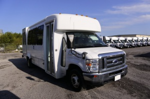Used Wheelchair Van For Sale: 2012 Ford Elkhart Bus EL Wheelchair Accessible Van For Sale with a  on it. VIN: 1FDFE4FS5CDA87074