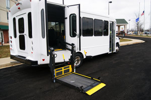 New Wheelchair Van For Sale: 2019 Ford Starcraft  Wheelchair Accessible Van For Sale with a  on it. VIN: 1FDFE4FS9KDC07456