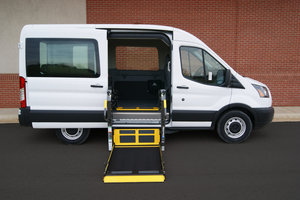 New Wheelchair Van For Sale: 2019 Ford Waldoch L Wheelchair Accessible Van For Sale with a  on it. VIN: 1FDZK1CM4KKA50103