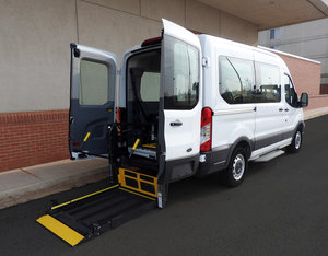 New Wheelchair Van For Sale: 2019 Ford Waldoch L Wheelchair Accessible Van For Sale with a  on it. VIN: 1FMZK1CM0KKA95409