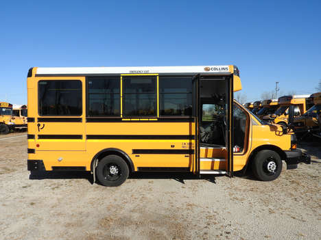 Used Wheelchair Van For Sale: 2019 Chevrolet Collins Bus Ll Wheelchair Accessible Van For Sale with a  on it. VIN: 1GB3GRBG0K1145824