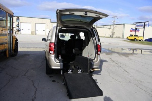 Used Wheelchair Van For Sale: 2013 Dodge Grand Caravan  Wheelchair Accessible Van For Sale with a  on it. VIN: 2C4RDGBG3DR822253