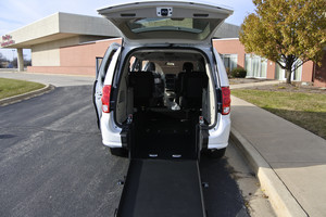 New Wheelchair Van For Sale: 2017 Dodge Grand Caravan  Wheelchair Accessible Van For Sale with a  on it. VIN: 2C4RDGBG3HR860023