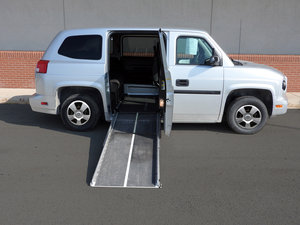 Used Wheelchair Van For Sale: 2014 Mobility Ventures MV-1 L Wheelchair Accessible Van For Sale with a  on it. VIN: 57WMD1A60EM100884