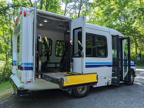 Used Wheelchair Van For Sale: 2012 Ford E-350 XL Wheelchair Accessible Van For Sale with a Commercial Vans - MTS Passenger Shuttle Bus on it. VIN: 1FDEE3FL3CDA96239
