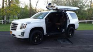 ? Wheelchair Van For Sale: 2016 Cadillac Escalade Premium  Wheelchair Accessible Van For Sale with a ATC Wheelchair Truck Conversions - Chevy, GMC & Cadalliac Suv's on it. VIN: 1GYS4CKJ3GR461391