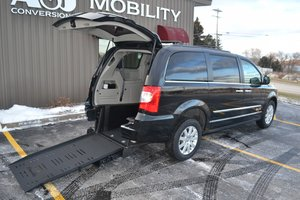 Commercial Vans Chrysler ADA Rear Entry Wheelchair Van Conversion