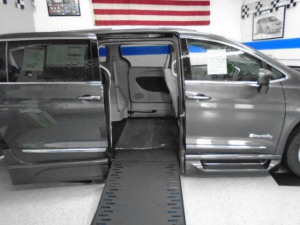 New Wheelchair Van For Sale: 2017 Chrysler Pacifica Touring Wheelchair Accessible Van For Sale with a BraunAbility Xi on it. VIN: 2C4RC1EG3HR854749