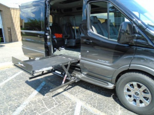 Used Wheelchair Van For Sale:  Ford Transit  Wheelchair Accessible Van For Sale with a Build To Spec on it. VIN: 523MF1A61BM100140