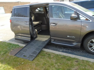 Used Wheelchair Van For Sale: 2012 Honda Odyssey EX Wheelchair Accessible Van For Sale with a Additional Items on it. VIN: 5FNRL5H46CB055304