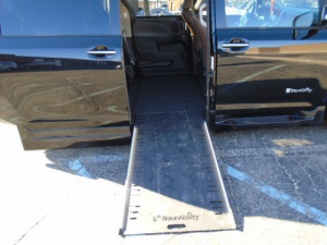 Used Wheelchair Van For Sale: 2015 Toyota Sienna Limited Wheelchair Accessible Van For Sale with a BraunAbility XT (Extra Tall) on it. VIN: 5TDYK3DC9FS633041