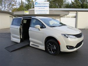 New Wheelchair Van For Sale: 2019 Chrysler Pacifica S Wheelchair Accessible Van For Sale with a  on it. VIN: 2C4RC1EG9KR686798