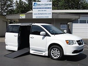 New Wheelchair Van For Sale: 2019 Dodge Grand Caravan S Wheelchair Accessible Van For Sale with a  on it. VIN: 2C7WDGCG1KR566387