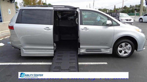 New Wheelchair Van For Sale: 2020 Toyota Sienna S Wheelchair Accessible Van For Sale with a  on it. VIN: 5TDKZ3DC4LS051149