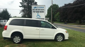 Used Wheelchair Van For Sale: 2011 Dodge Grand Caravan Express  Wheelchair Accessible Van For Sale with a FR Wheelchair Vans - Dodge Rear Entry on it. VIN: 2d4rn4dg6br791914