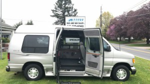 Used Wheelchair Van For Sale: 2003 Ford E-150 LT Wheelchair Accessible Van For Sale with a  on it. VIN: 1FDRE14L93HA25760