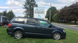 Used Wheelchair Van For Sale: 2014 Dodge Grand Caravan  Wheelchair Accessible Van For Sale with a FR Wheelchair Vans - Dodge Rear Entry on it. VIN: 2c4rdgcg8er155311