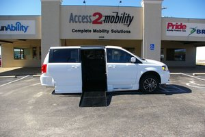 New Wheelchair Van For Sale: 2014 Dodge Grand Caravan SXT Wheelchair Accessible Van For Sale with a  on it. VIN: 2C4RDGCG3ER265330