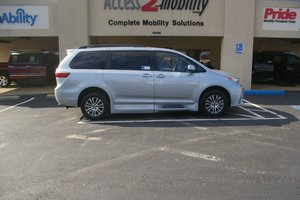 New Wheelchair Van For Sale: 2019 Toyota Sienna Limited Wheelchair Accessible Van For Sale with a  on it. VIN: 5TDYZ3DC0KS979761