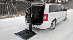 Used Wheelchair Van For Sale: 2016 Chrysler Town and Country  Wheelchair Accessible Van For Sale with a Non Branded - Wheelchair Lift & Tiedowns on it. VIN: 2C4RC1BG1GR148141