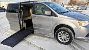 Used Wheelchair Van For Sale: 2016 Dodge Caravan  Wheelchair Accessible Van For Sale with a Eldorado National Amerivan - Dodge & Chrysler Amerivan on it. VIN: 2C7WDGCG6GR357749