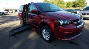 Used Wheelchair Van For Sale: 2016 Dodge Caravan  Wheelchair Accessible Van For Sale with a BraunAbility - Dodge CompanionVan Plus on it. VIN: 2C4RDGCG6GR272663