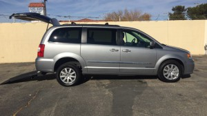 Used Wheelchair Van For Sale: 2015 Chrysler Town and Country Touring  Wheelchair Accessible Van For Sale with a Freedom Motors - Manual Chrysler Rear Entry on it. VIN: 2c4rc1bg8fr716027