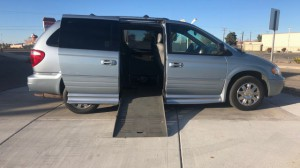 Used Wheelchair Van For Sale: 2006 Chrysler Town & Country Limited Wheelchair Accessible Van For Sale with a BraunAbility - Chrysler Entervan II on it. VIN: 2a8gp64l26r798025