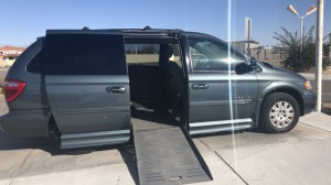 Used Wheelchair Van For Sale: 2005 Chrysler Town & Country LX Wheelchair Accessible Van For Sale with a BraunAbility - Chrysler Entervan XT on it. VIN: 2c4gp44rx5r171636