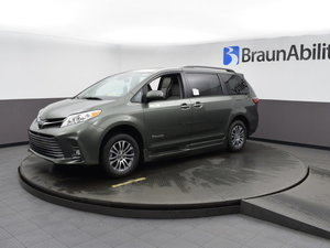 New Wheelchair Van For Sale: 2020 Toyota Sienna XLE Wheelchair Accessible Van For Sale with a BraunAbility Toyota BraunAbility Li on it. VIN: 5TDYZ3DC4LS038847