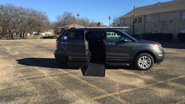Mobility Van Dealers Tx >> 2015 Ford Explorer Wheelchair Van For Sale - BraunAbility MXV Wheelchair SUV | Mesquite, TX ...