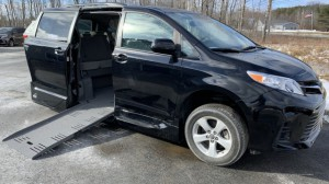 Used Wheelchair Van For Sale: 2018 Toyota Sienna LE Wheelchair Accessible Van For Sale with a VMI - Toyota Summit Access360 on it. VIN: 5TDKZ3DC8JS911518