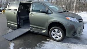 New Wheelchair Van For Sale: 2020 Toyota Sienna LE Wheelchair Accessible Van For Sale with a VMI - Toyota NorthstarAccess360 on it. VIN: 5TDYZ3DC6LS038578