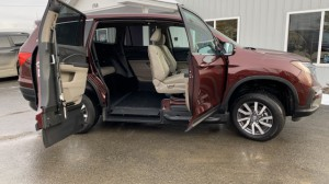 New Wheelchair Van For Sale: 2019 Honda Pilot EX Wheelchair Accessible Van For Sale with a VMI - VMI Honda Pilot with Northstar E on it. VIN: 5FNYF5H37KB000191